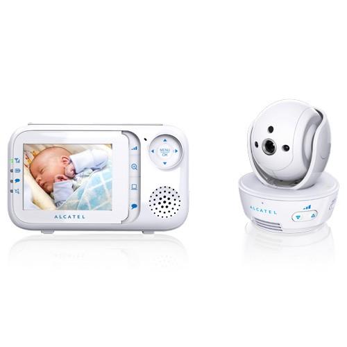 Cámara vigilabebes alcatel baby link 710 2.8`
