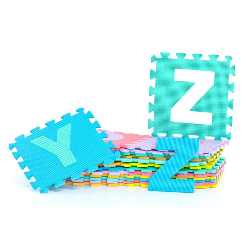 Alfombra Puzzle de Espuma 29x29 26 Piezas