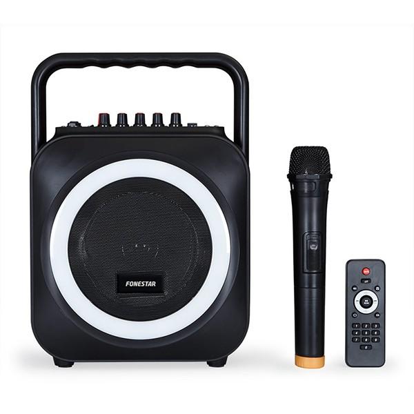 Altavoz Karaoke GH Fonestar Box-35LED Bluetooth+Micrófono+LED