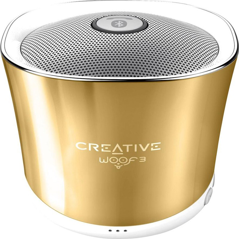 Altavoz Portátil Bluetooth Creative Labs Woof 3 Dorado