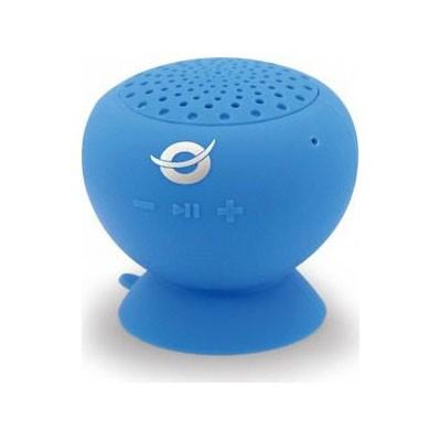 Altavoz Bluetooth Conceptronic Con Ventosa e Impermeable Azul