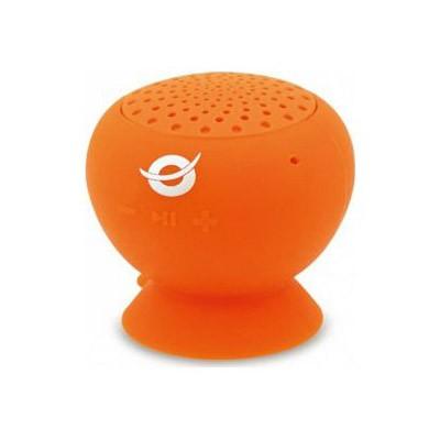 Altavoz Bluetooth Conceptronic Con Ventosa e Impermeable Naranja
