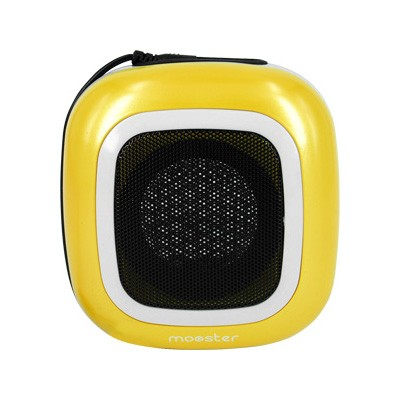 Altavoz Mini Portatil Mooster Mini Speaker Amarillo