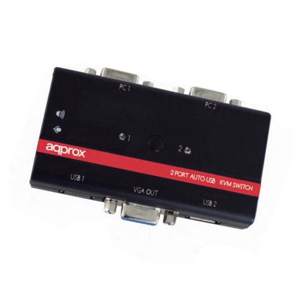 switch-kvm-2-puertos-usb-approx-appkvmusb2pv2