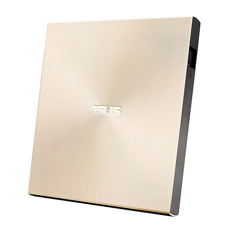Grabadora DVD Externa Asus ZenDrive U9M (SDRW-08U9M-U) M-Disc Dorado