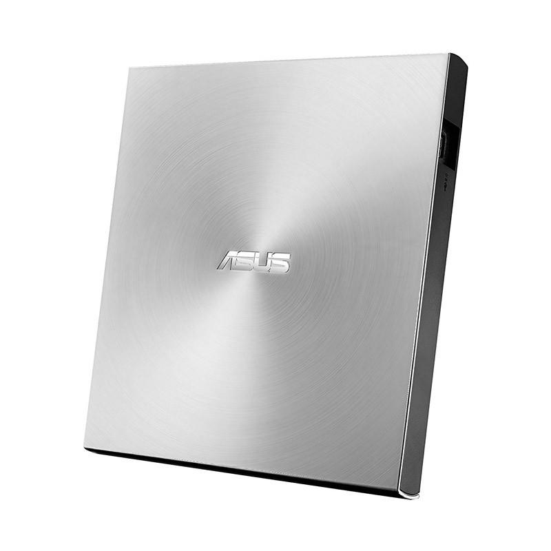 Grabadora DVD Externa Asus ZenDrive U9M (SDRW-08U9M-U) M-Disc Plata