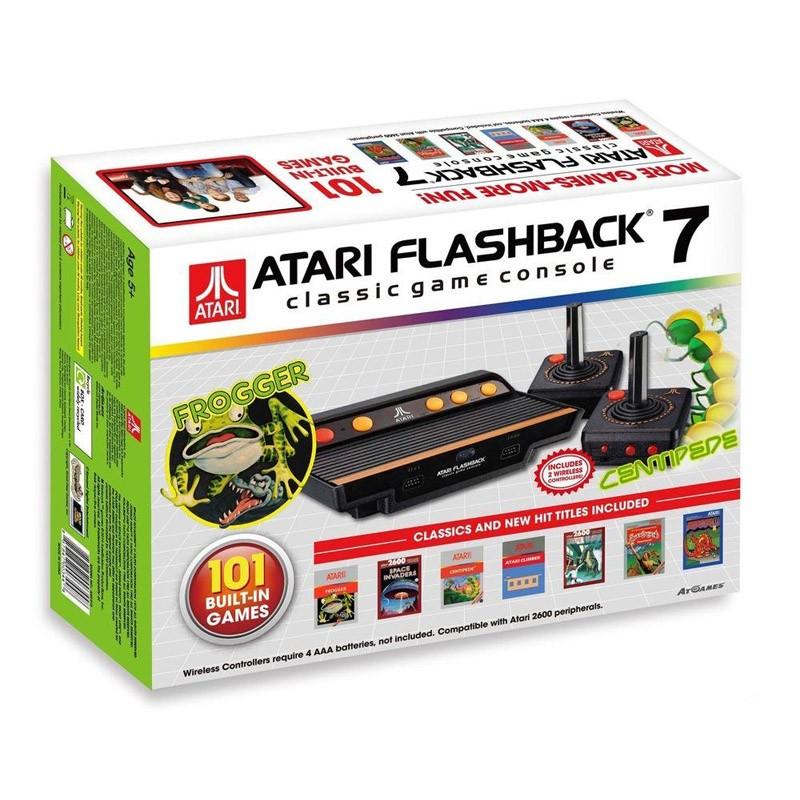 Consola Retro Atari Flashback 7 con 101 Juegos