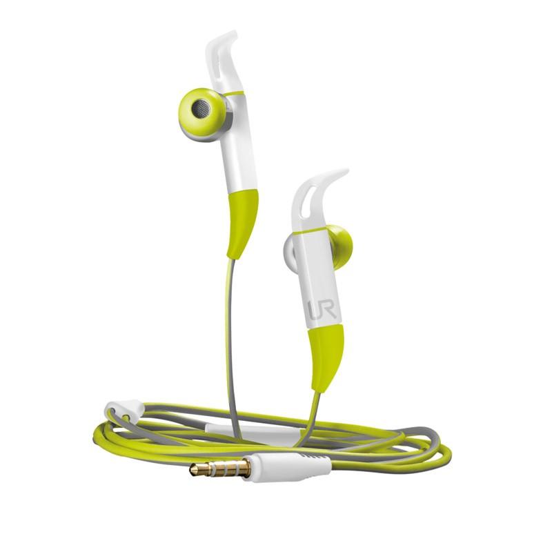 Auriculares Deportivos con Micrófono Trust Urban Fit In-Ear Verde