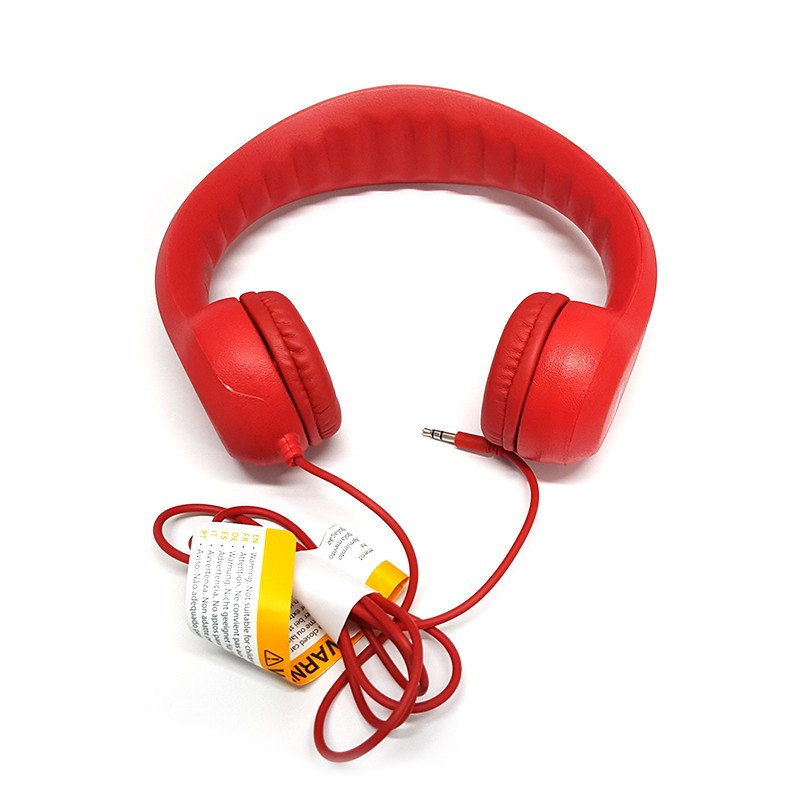 Auriculares Infantiles Grixx Kids Headphone Rojo