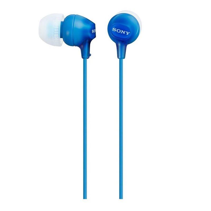 Auriculares Sony EX 15LP Azul