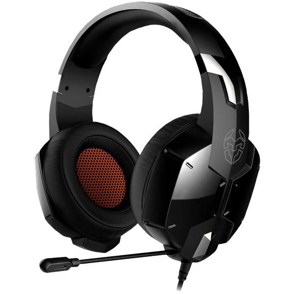 Auriculares con Microfono Nox KROM Kopa Negro
