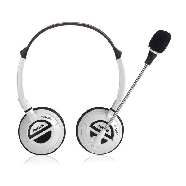 Auriculares con Microfono NGS MSX6 Pro White