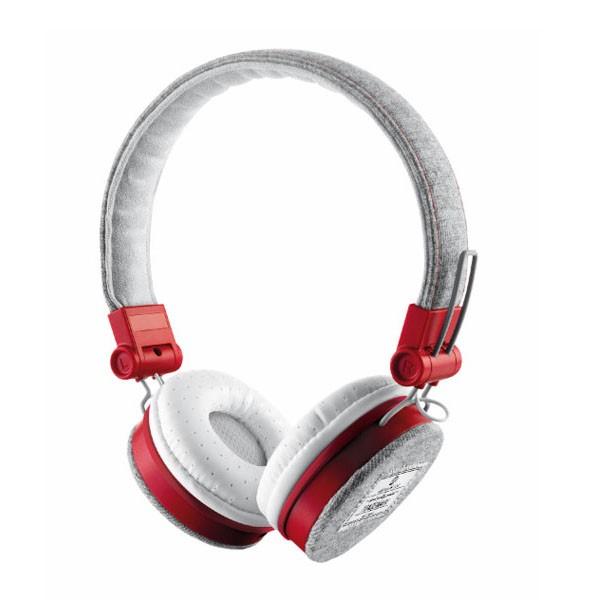 Auriculares con Microfono Trust Fyber Gris/Rojo