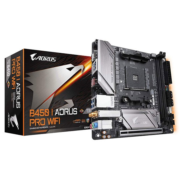Placa Base Aorus B450 I PRO WIFI Mini ITX Socket AM4
