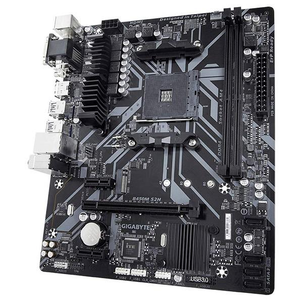 Placa Base Gigabyte B450M S2H mATX Socket AM4