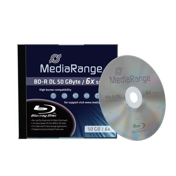 BD-R DL 50GB 6X MediaRange Caja Jewel 1 uds