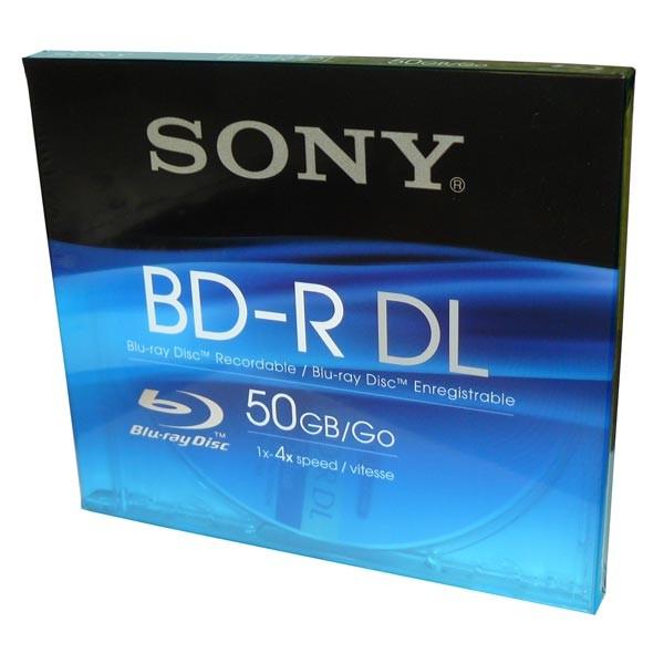 BD-R DL 50GB 4X Sony Caja Jewel 1 uds