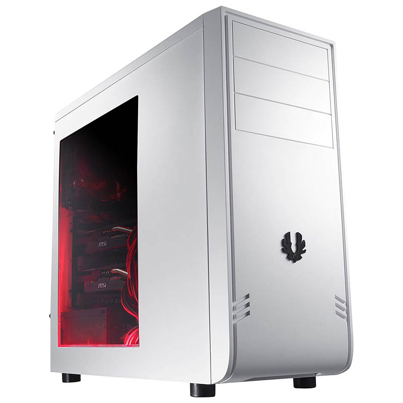 Caja PC Semitorre ATX Bitfenix Comrade White + Window