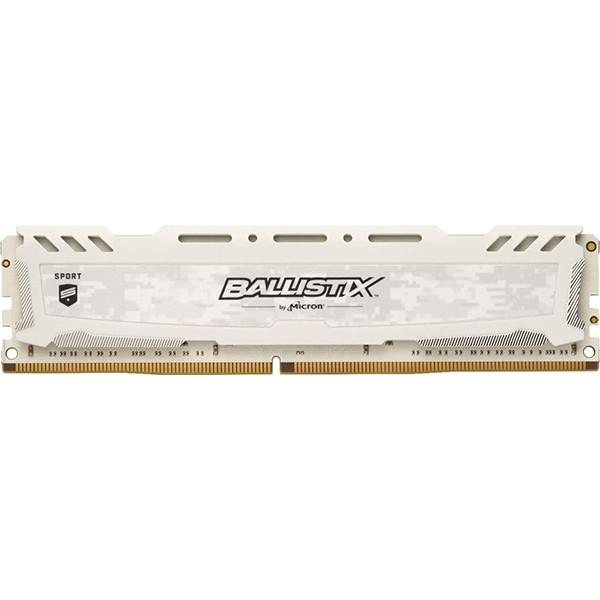 Memoria Crucial Ballistix Sport LT 8GB DDR4 3000MHz Blanca