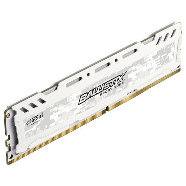 Kit Memoria Crucial Ballistix Sport LT 16GB DDR4 2400MHz (2x8GB) Blanco