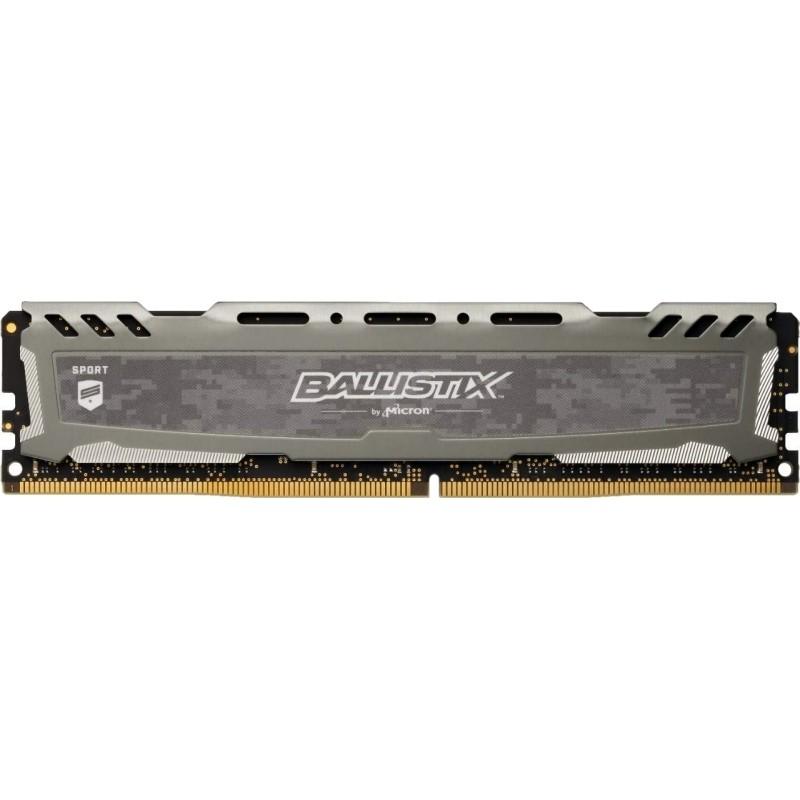 Memoria Crucial Ballistix Sport LT 8GB DDR4 3000MHz Gris