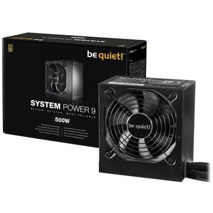 Fuente de Alimentación Be Quiet! System Power 9 500W 80PLUS Bronze