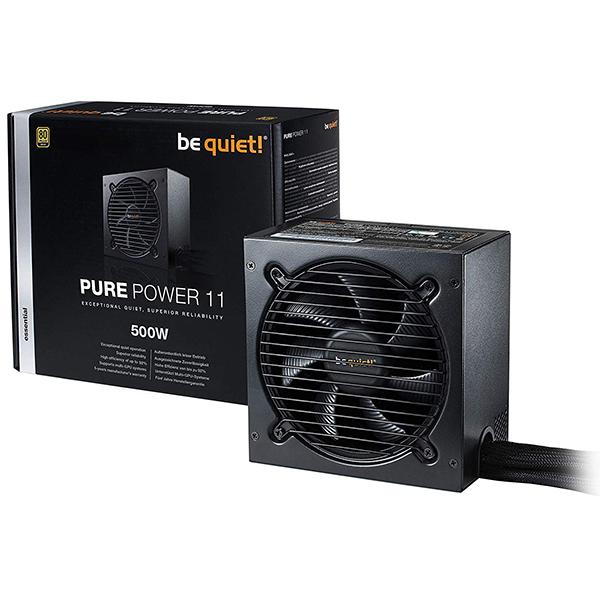 Fuente de Alimentación Be Quiet! Pure Power 11 500W 80PLUS Gold