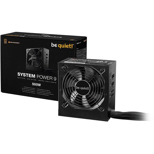 Fuente Semi-Modular Be Quiet! System Power 9 CM 500W 80PLUS Bronze
