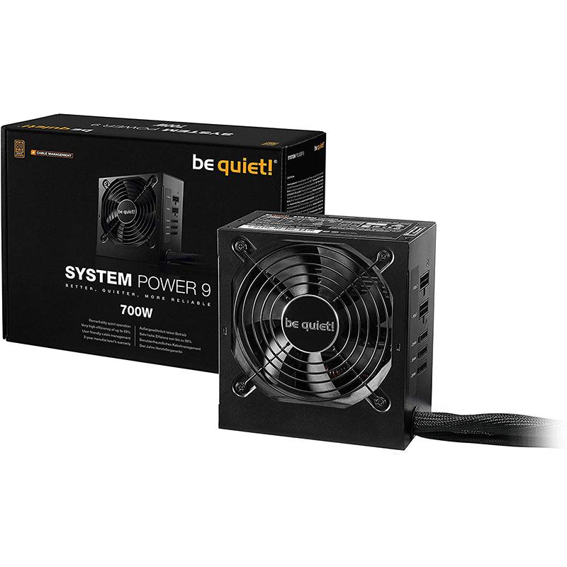 Fuente Semi-Modular Be Quiet! System Power 9 CM 700W 80PLUS Bronze