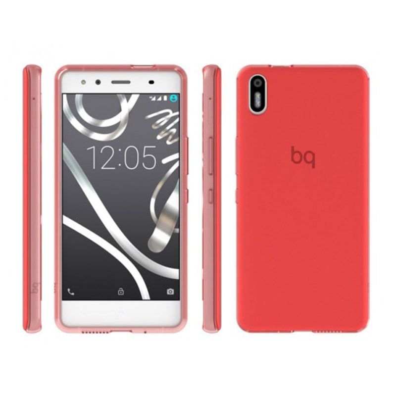 bq-aquaris-x5-funda-flexible-gummy-roja