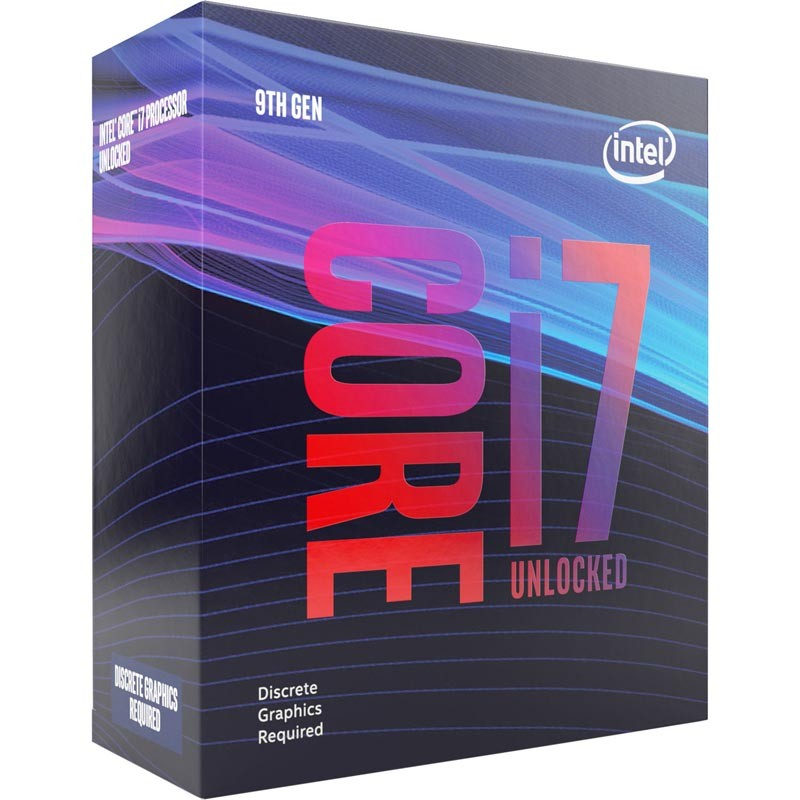 Procesador Intel Core i7-9700KF 3.60GHz 12MB LGA1151(300)