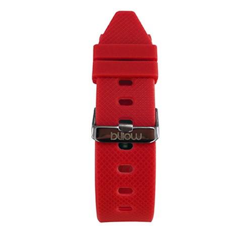 Billow XSB70 Pulsera de Actividad con Pulsómetro Rojo