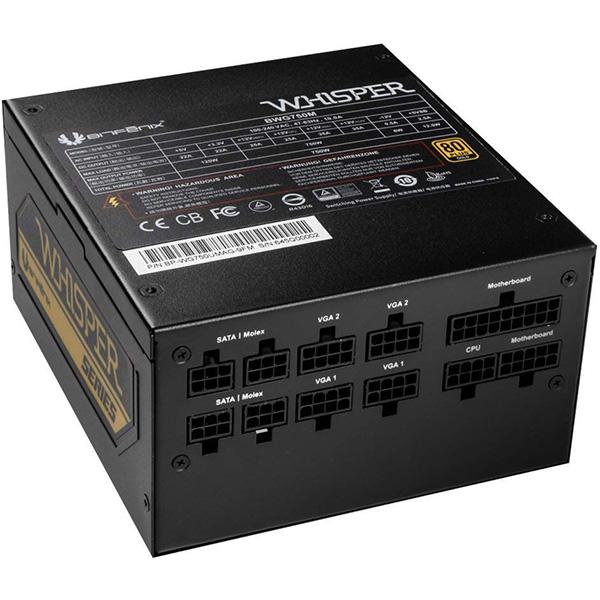 Fuente Alimentación Modular BitFenix Whisper M 750W 80 PLUS Gold