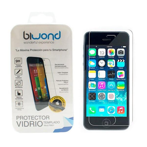 iphone-5-5s-protector-vidrio-templado-biwond