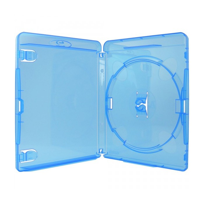 Caja BluRay Estandar 15mm AMARAY pack 50 uds
