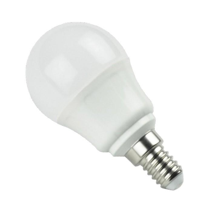 Bombilla LED Bajo Consumo 5W 3000K E14 (360lum) Serie G45