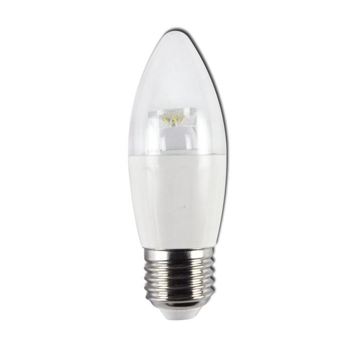 Bombilla LED Bajo Consumo 4W 6400K E27 (260lum) Serie C35