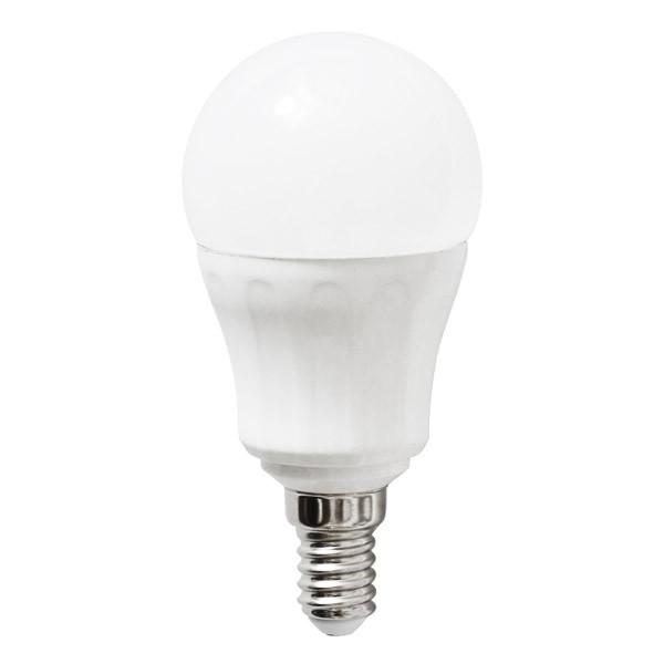 Bombilla LED Bajo Consumo 6W 6400K E14 (450lum) Serie P45