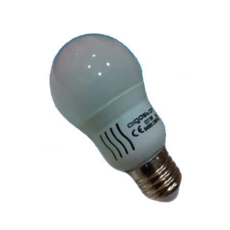 Bombilla LED Bajo Consumo 3W(30W) 6400K E27 195lm