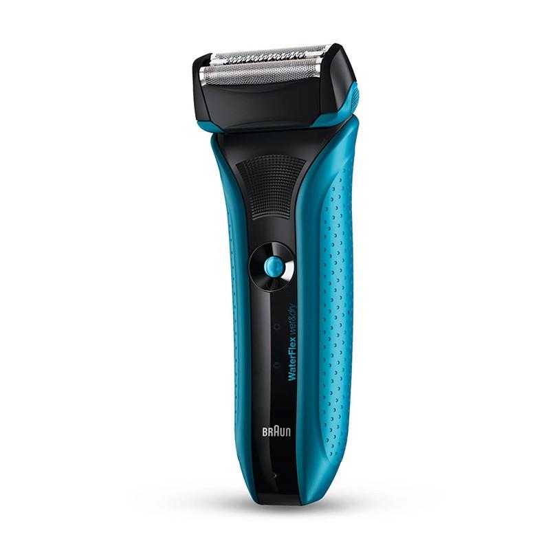 Afeitadora Eléctrica Braun Waterflex Blue Recargable