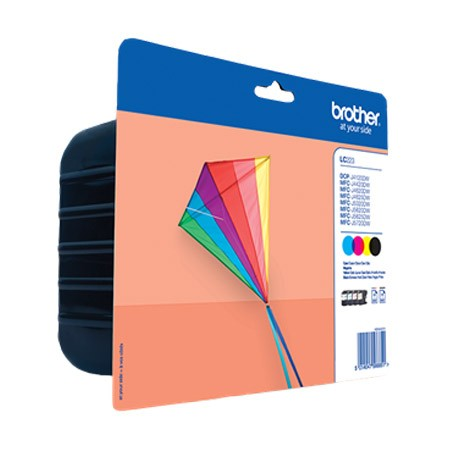 Brother LC223VALBP Pack Cartucho de Tinta Original (N+C+M+A)