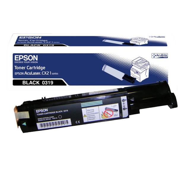 Epson Toner Original AL-C1100/CX21 C13S050319 Negro