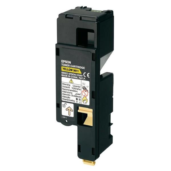 Epson Toner Original AL-C1700/C1750/CX17 C13S050611 Alta Capacidad Amarillo