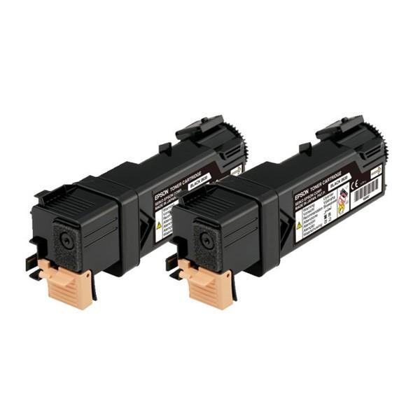 Epson Pack 2 Toner Original AL-C2900/CX29 C13S050631 Negro