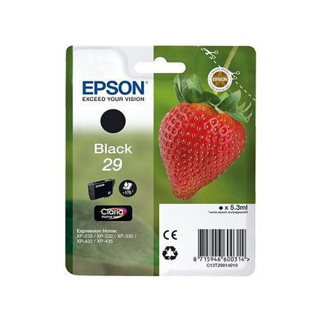 Epson 29 Cartucho de Tinta Original Negro