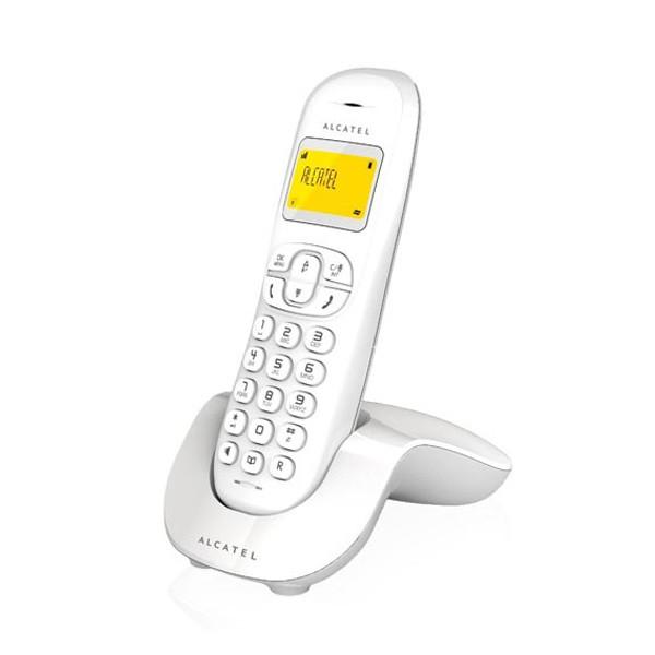 Telefono inalambrico alcatel c250 blanco