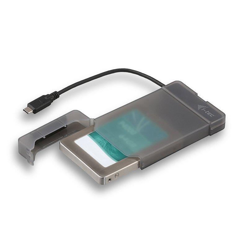 Carcasa para SSD i-Tec MySafe SATA a USB-C 3.1