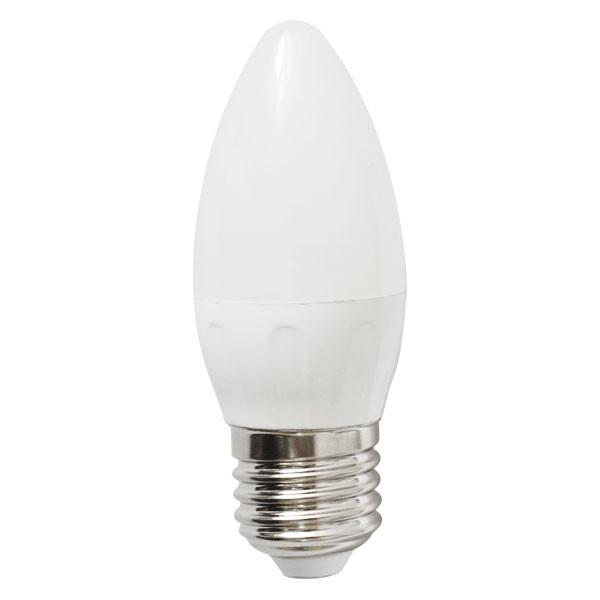 Bombilla LED Bajo Consumo 4W 3000K E27 (300lum) Serie C37