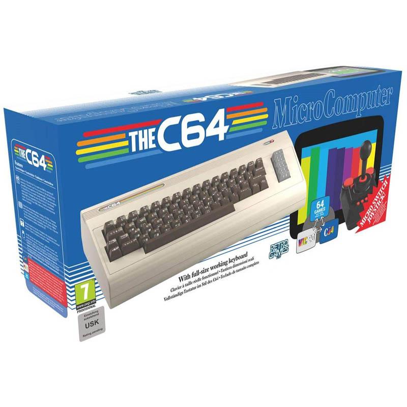 Commodore C64 Maxi - Consola Retro