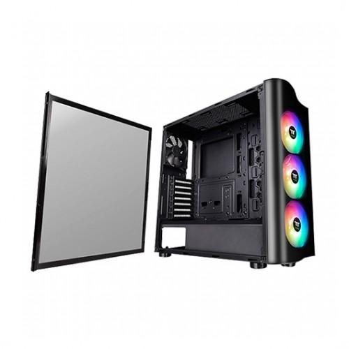 Caja PC Thermaltake View 23 TG ATX ARGB Cristal Templado USB 3.1 Negra
